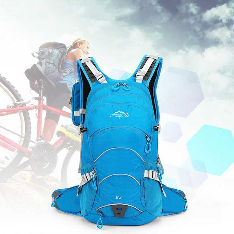 Backpack Outdoor Bags Sports Travel Mountaineering Camping Hiking Trekking Rucksack Bike Water Bag Shoulder