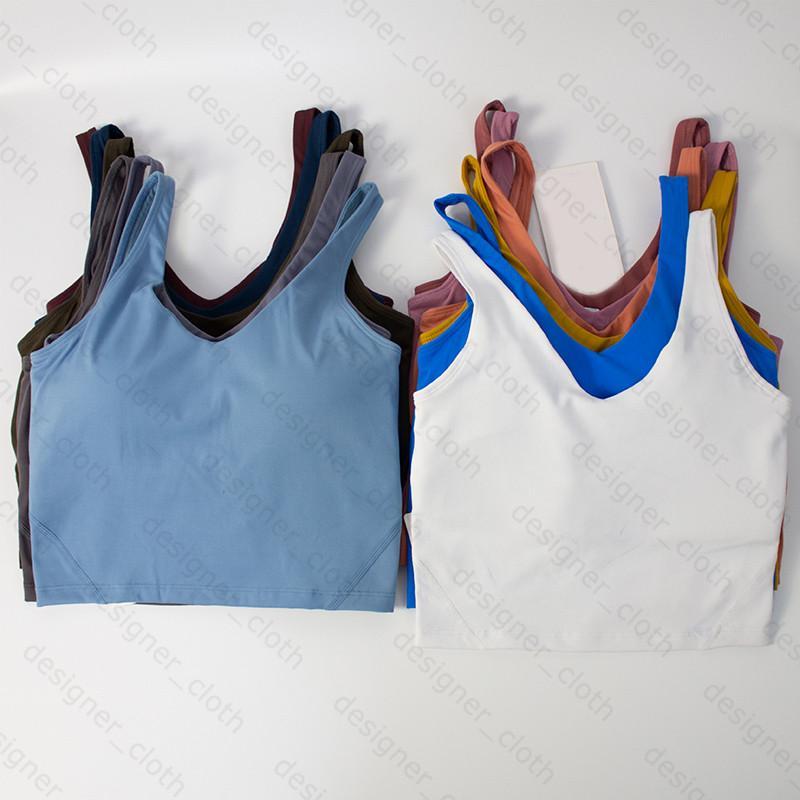 Ropa de yoga para mujer deportes camisoles tanques sujetador ropa interior damas bras fitness belleza moda ropa interior chaleco diseñadores ropa entrenadores
