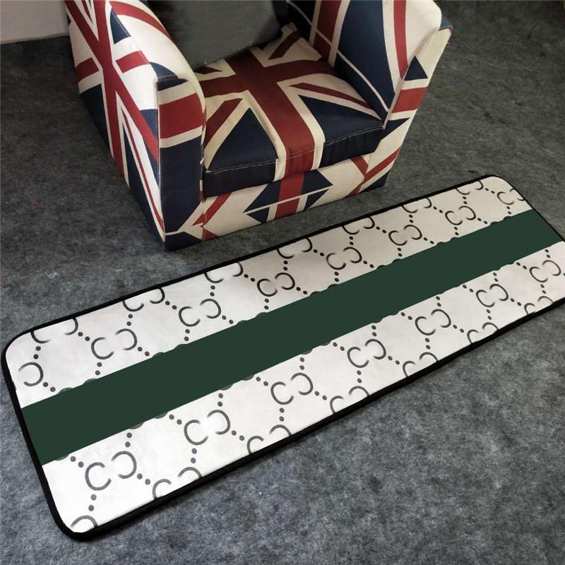 Trendy Home Long Carpet Designer Bathtub Carpets Water Absorption Non Slip Bath Shower Mat Balcony Floor Mats 50*160CM