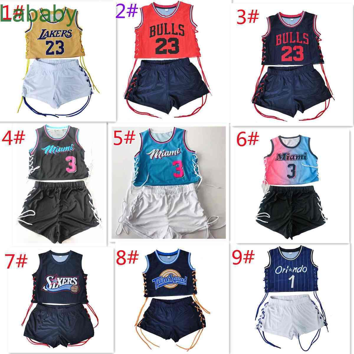 Womens Tracksuits 2 Two Piece Shorts Outfits Basketball sportswear Digital And Letter Printing Casual Fitness Clothing