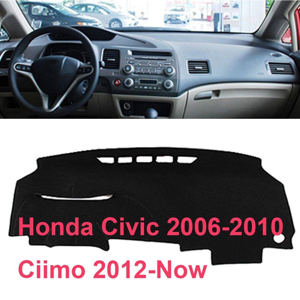 Противоскользящий коврик для Honda Civic 2006 2007 2008 2009 2007 2010 для Ciimo 2012 Dashmat приборная панель для приборной панели для приспособления накладки автомобильные аксессуары
