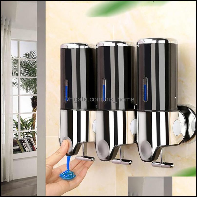 Liquid Aessories Bath Home & Gardenliquid Wall Mounted Shampoo Shower Gel Dispensers Hand Sanitizer Soap Dispenser For Kitchen Bathroom Drop
