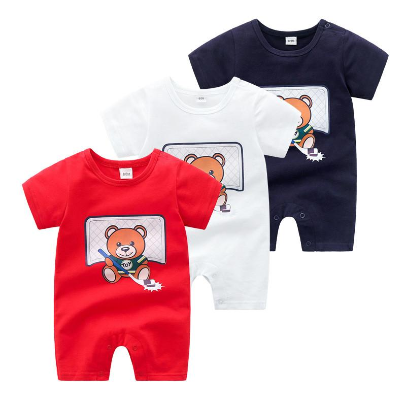 2021 Summer Boys and Girls Fashion HA Ploth Neonato Neonato Arrampicata Abbigliamento Brands Baby Girl Romper Infant Animal Costumes Pigiama
