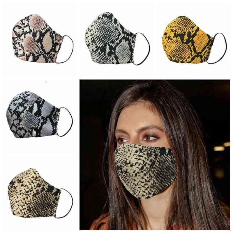 Designer Leopard Face Designer Maschera Lavabile Dispolvere Respiratore Respiratore in Guida Giardino da uomo Donna Outdoor Sport Stampa Stampa Bocca Maschere Boom2015