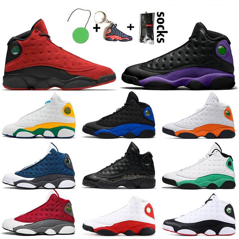 Nike Air Jordan 13 Jumpman (13) 레드 플린트 13S 여성 남성 농구 신발 새틴요르단그린 핑크 시카고 하이퍼 로얄 (13 개) 운동화 트레이너 활공 레트로