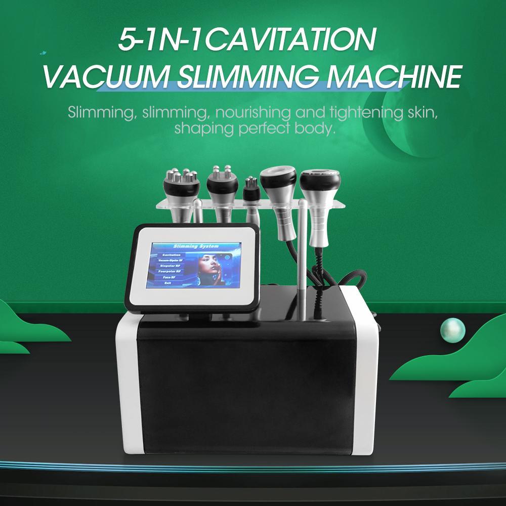 40k Kavitation Ultraschallkörper Abnehmen Maschine Lipo Laser für Heimgebrauch Gewicht HF Vakuumlipolaser Fett Reduzieren Sie 5 in 1 Schönheitssalon