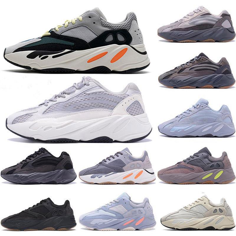 ثابت عاكس 700 v2 الاحذية للرجال تنفس الجمود تيفرا الصلبة رمادي فائدة السود السود النساء الرياضة المدربين أحذية رياضية يورو 36-46