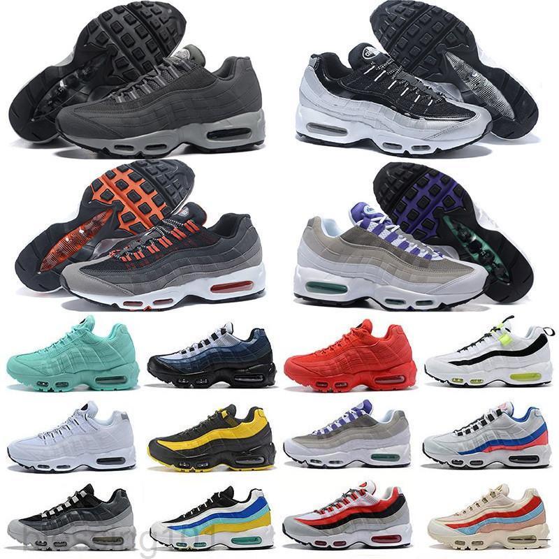 2019 hombres Air OG Cushion Navy Sport Chaussure de alta calidad Botas para caminar hombres zapatos casuales zapatillas de deporte de cojín tamaño 36-46 kk88