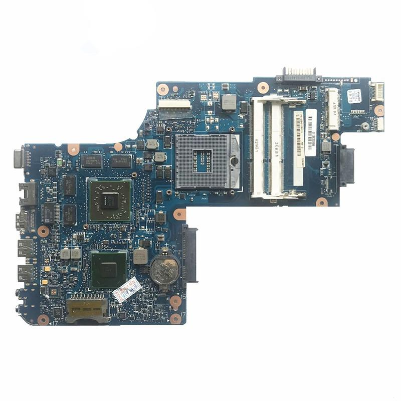 High Quality For Toshiba C850 L850 Laptop Motherboard H000038410 PGA989 HM76 HD 7610M GPU MB 100% Tested Fast Ship