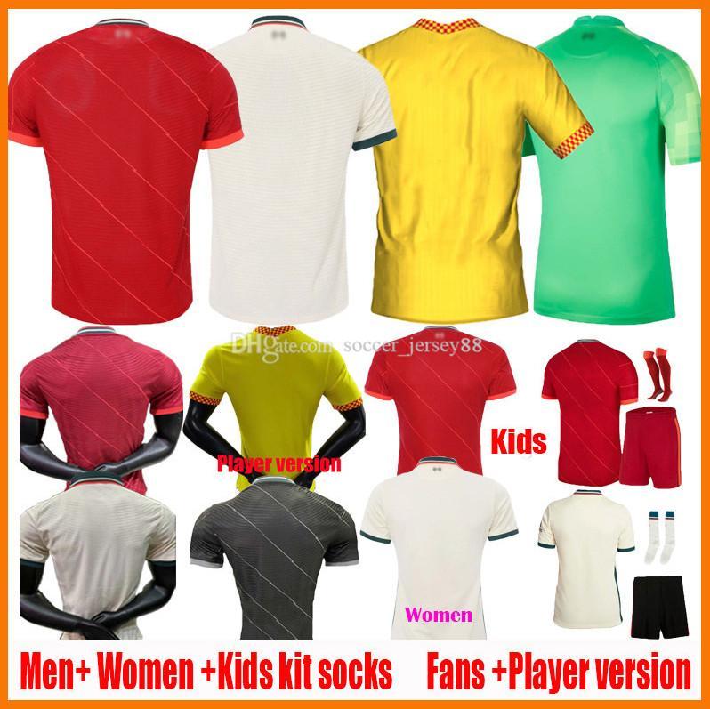 2021 2022 soccer jerseys fans player version Men Women kids 20 21 22 club football shirt 2021-22 ladys jersey child Camisa de futebol blank camiseta uniform kits