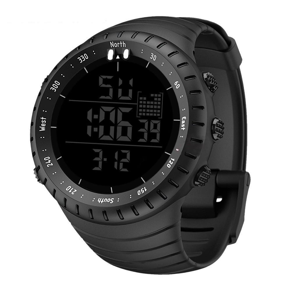 2021 esporte ao ar livre esportes digitais para homens rodando stopwatch militar led eletrônico relógio relógio masculino