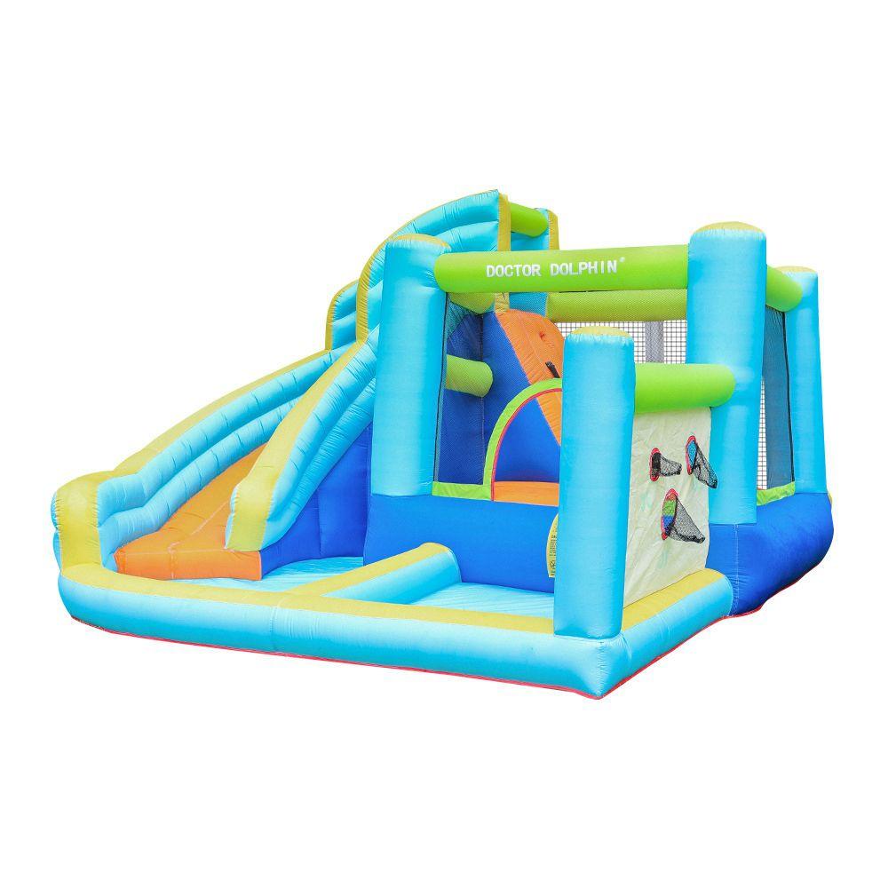 Águas Comerciais Infláveis Slides Bouncer para Crianças Bola Buraco Piscina Casa Pequeno Castelo Bouncy Jumper Jump