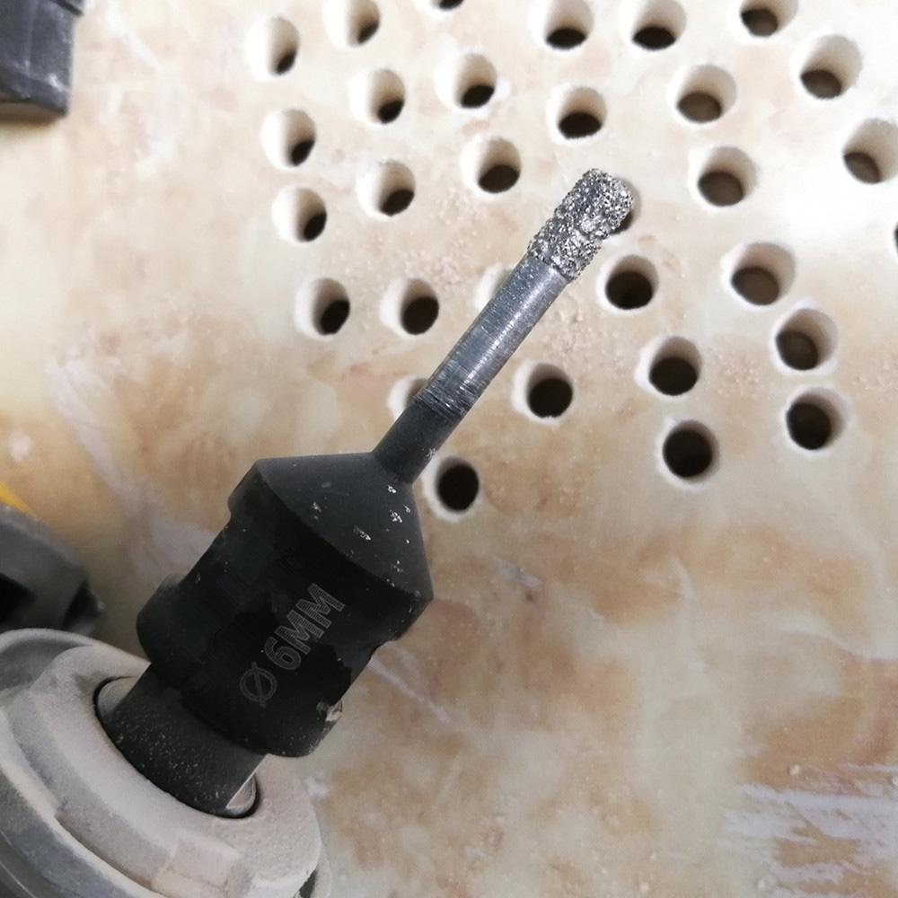 Dry Vacuum Brazed Diamond Drilling Core Bits Ceramic Tile Hole Saw Professional Quality Drill Bits Granite Marble Stone