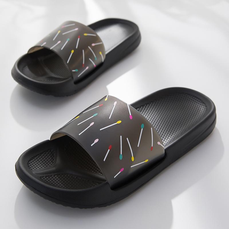 Chinelos de mulheres deslizam sandália de verão eva macio sapatos feminino antiderrapante casa de banho interior flip flops homens casal