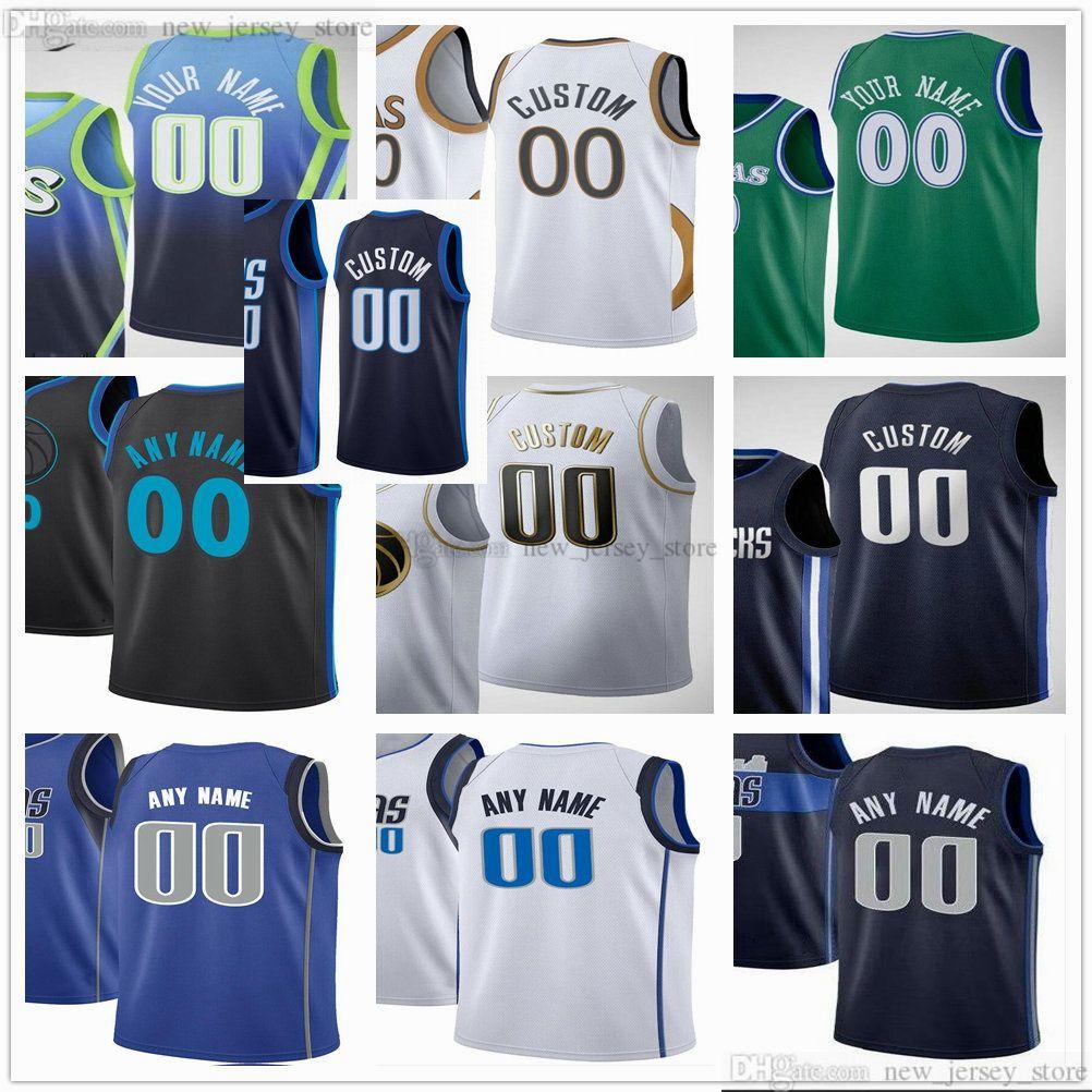 Jerseys de baloncesto impreso personalizado 77 LUKA 6 KRISTAPS DONCICO PORZINGIS TIM 11 HARDEWAY REDICK 0 JOSH 8 GREEN RICHARDSON BOBAN MARJANOVIC JERSEY