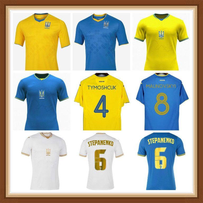 Ucrânia Jersey Jersey Romania Camisa de Futebol Vitaliy Mykolenko Oleksandr Zinchenko 2021 2022 Jerseys da equipe nacional camisetas Ruslan Malinovskyi Viktor Tsygankov