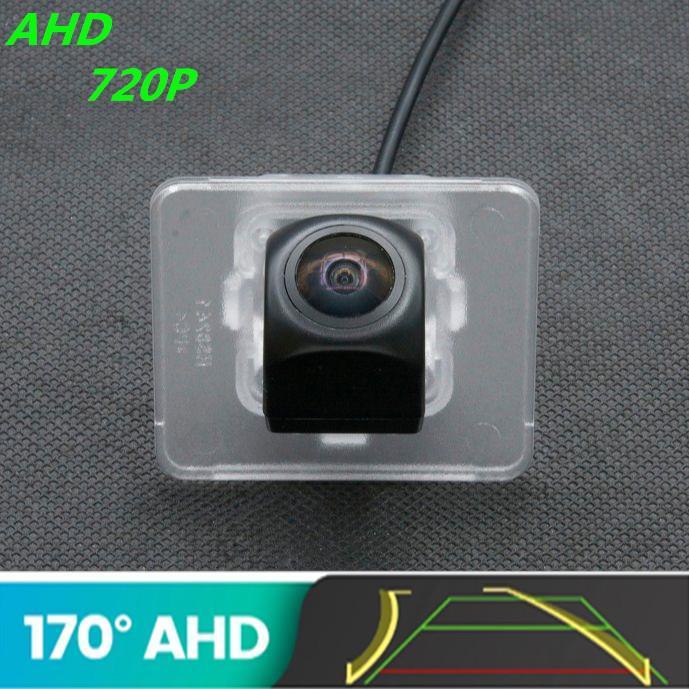 Araba Dikiz Kameralar Park Sensörleri AHD KIA Optima K5 2010 için AHD 720 P Yörünge Fisheye Kamera Kıd 2010 - 2021 CERATO 2013 2014 Ters Araç
