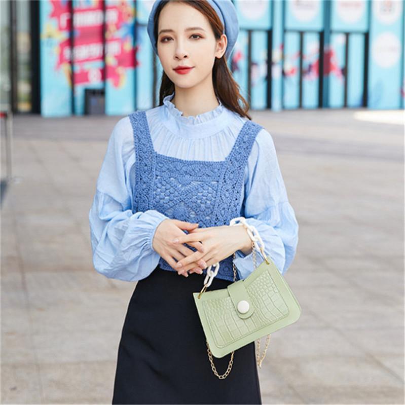 2021 جودة عالية أحدث الماس المرأة حقيبة الكتف SG83 الصيف الإبط المحافظ أزياء سيدة مصممي الفمز العلامة التجارية حقائب اليد العلامة التجارية بلينغ نايلون لامعة حقيبة يد