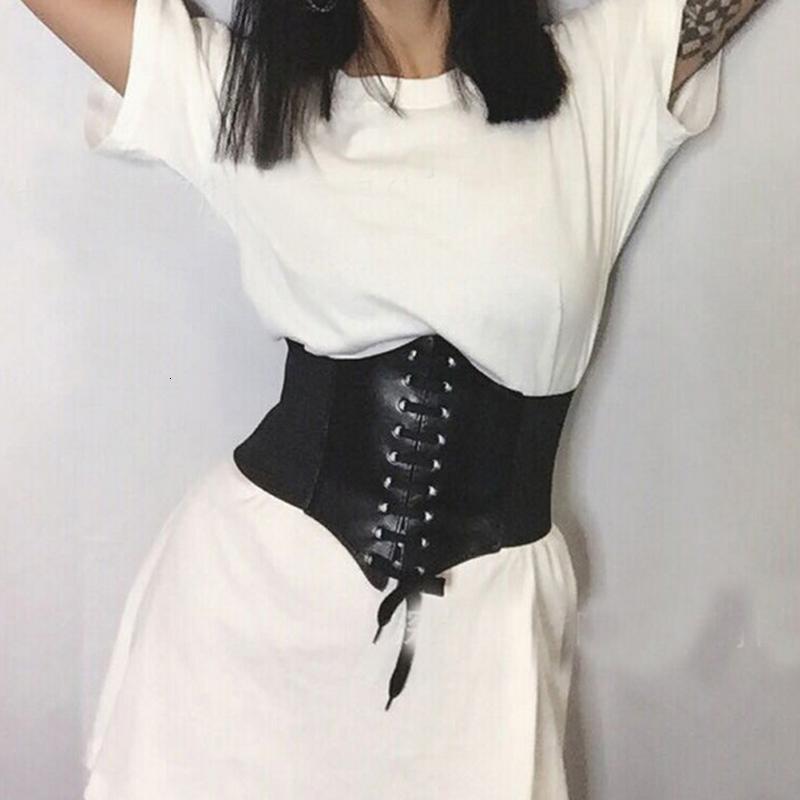 Мисс М женщин ультра супер PU эластичный корсет мода широкий талийский пояс дамы одежда аксессуары женские украшения