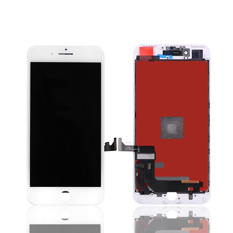 High Brigtness ЖК-панели для iPhone 6s Plus 7 8 6 Оценка A +++ Дисплей Сенсорный Digitizer Экран Ассамблеи Ремонт TFT Нет Dead Pixels 100% Тестируют не пакет