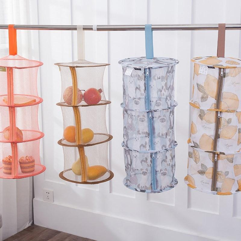 Séchage des vêtements Nets Basket Basket Pliant Flying Networker Sweater Anti-Développement Launier Launisme Organisation de stockage