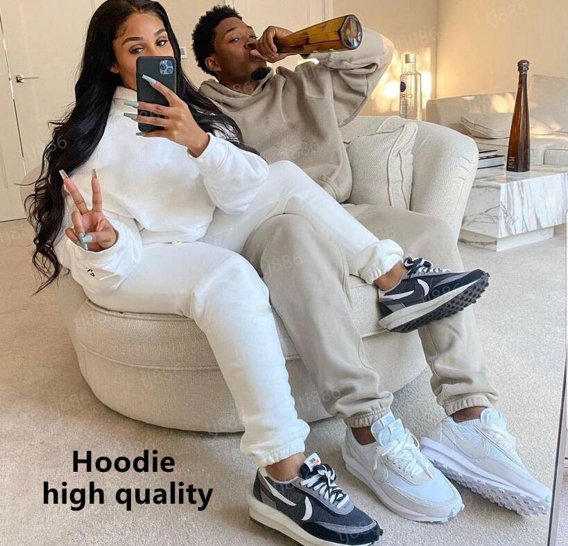 2021 Designer Calças Hoodie Homens e Mulheres Moda Clássica Confortável Alta Qualidade Hoodies Multicolor Movimento Casais Calças Transporte Grátis