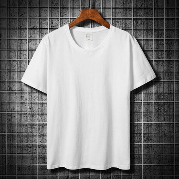 Белые хлопчатобумажные футболки с короткими рукавами футболки мужские и женские высококачественные целый матч не могут позволить себе мяч