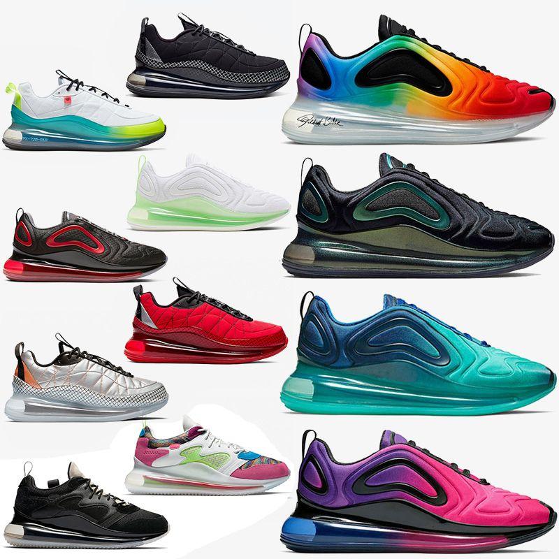 max 720 airmax 720s Cushion Running Shoe Triple-s Bianco Nero Moda Uomo Donna Calzature sportive Luxury Designer di marca Sneakers Scarpe da ginnastica