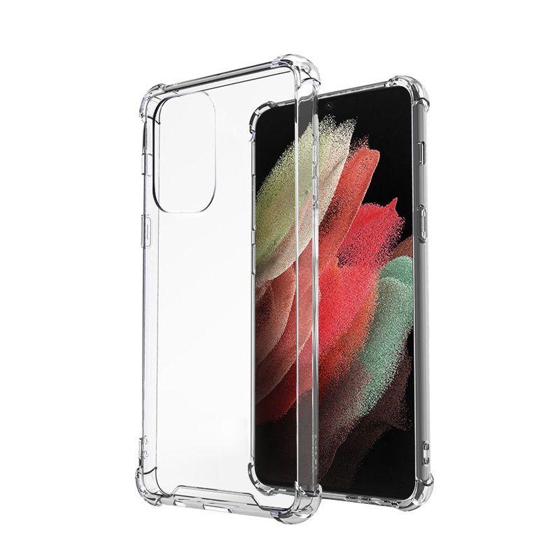 1.0 mm Transparente A prueba de golpes Acrílico TPU Cajas de armadura híbrida para Samsung Galaxy S30 Ultra A32 A52 A72 S20 Plus 400pcs / lot