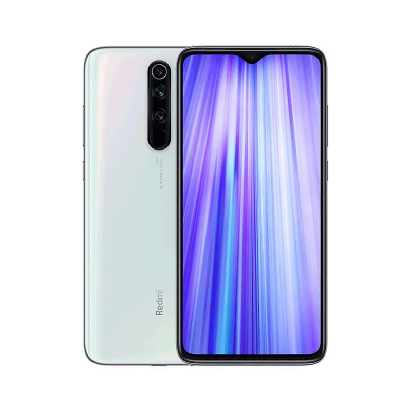 "Original Xiaomi Redmi Note 8 Pro 4G LTE Cell Phone 8GB RAM 128GB ROM MTK Helio G90T Octa Core Android 6.53"" Full Screen 64.0MP NFC Fingerprint ID Face Smart Mobile Phone"