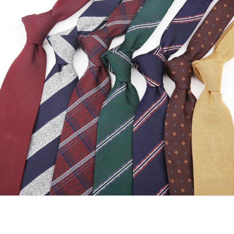 8 cm erkek boyun bağları erkekler için geniş casual ince kravat gravata düğün iş kravatları tasarım polyester