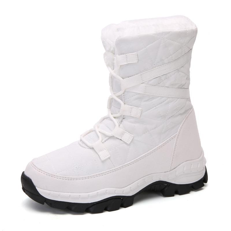 Bottes a bu nai 2021 mode imperméable à la neige chaussures femmes casual casual Botas Mujer chaud hiver