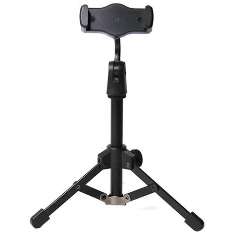 삼각대 미니 데스크탑 작은 전화 스탠드 라이브 브로드 캐스트 / K 노래 / 비디오 사용을위한 탁상용 삼각대