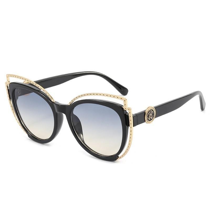 Sonnenbrille Katze Auge Sonnenbrille Reise Kleine Rechteck Frauen Vintage Retro Oculos Lunette De Soleil Femme UV400