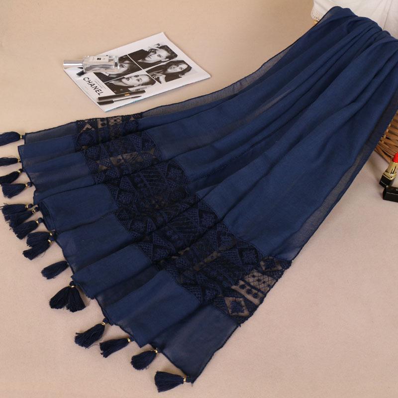 -szelling National Kostüme Großhandel Elegante Quaste Kopftücher BS529 MS, um Spitze Schal Schals zu färben