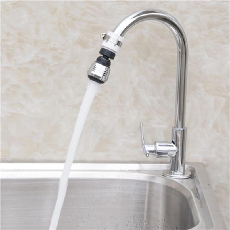 Ajuste de 360 grados Cocina Tubo de extensión Cuarto de baño Filtro de agua Filtro de espuma Faucet Accesorios