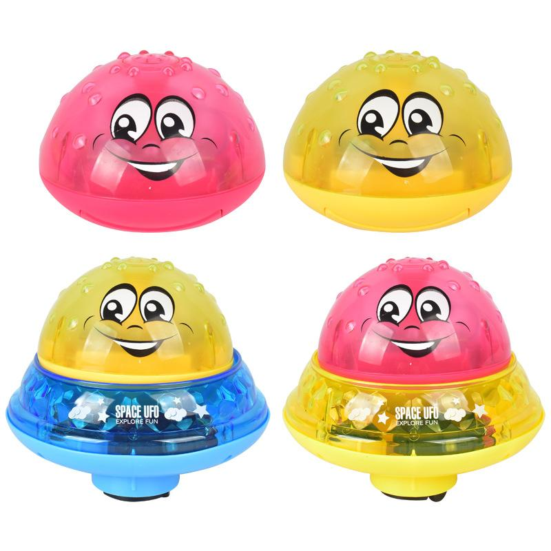 Baby Bath Toys Light Ball Children Music Whale Baño Baño Juguete Eléctrico Inducción Ducha Nadar Multicolor Chicos y niñas