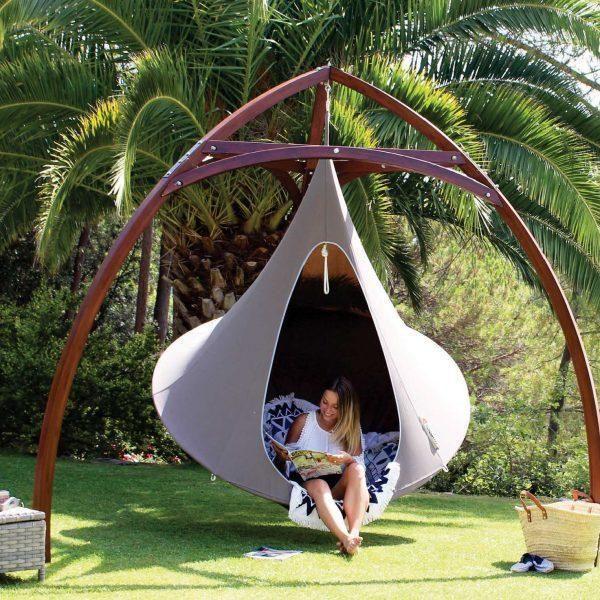Shape Tipee Tree Hanging Swing Chair für Kinder Erwachsene Indoor Outdoor Hängemattenzelt Hamaca Patio Möbellager