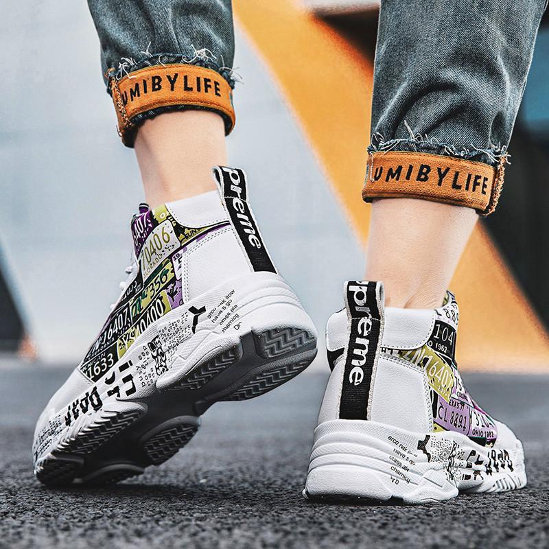 2021 Новая летняя мода бренд мужская повседневная обувь легкий дышащий высокий высокий высококачественный мужские кроссовки на шнурок мужская обувь