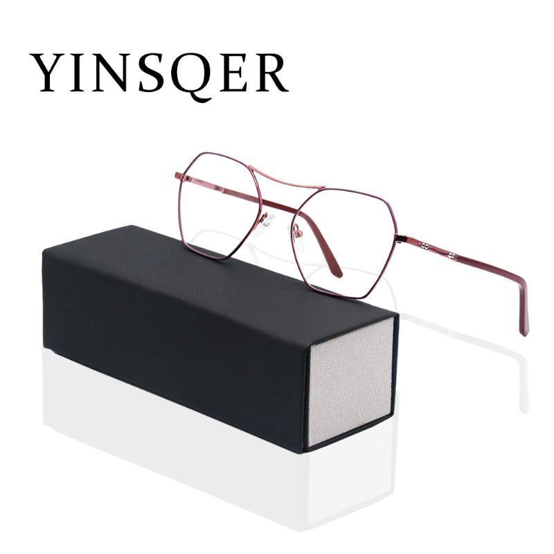 Modische Brille Rahmen Rahmen für Frauen Blau Licht Blockierung Ungewöhnlicher Frauen Computer Weibliche Brillen Sonnenbrille