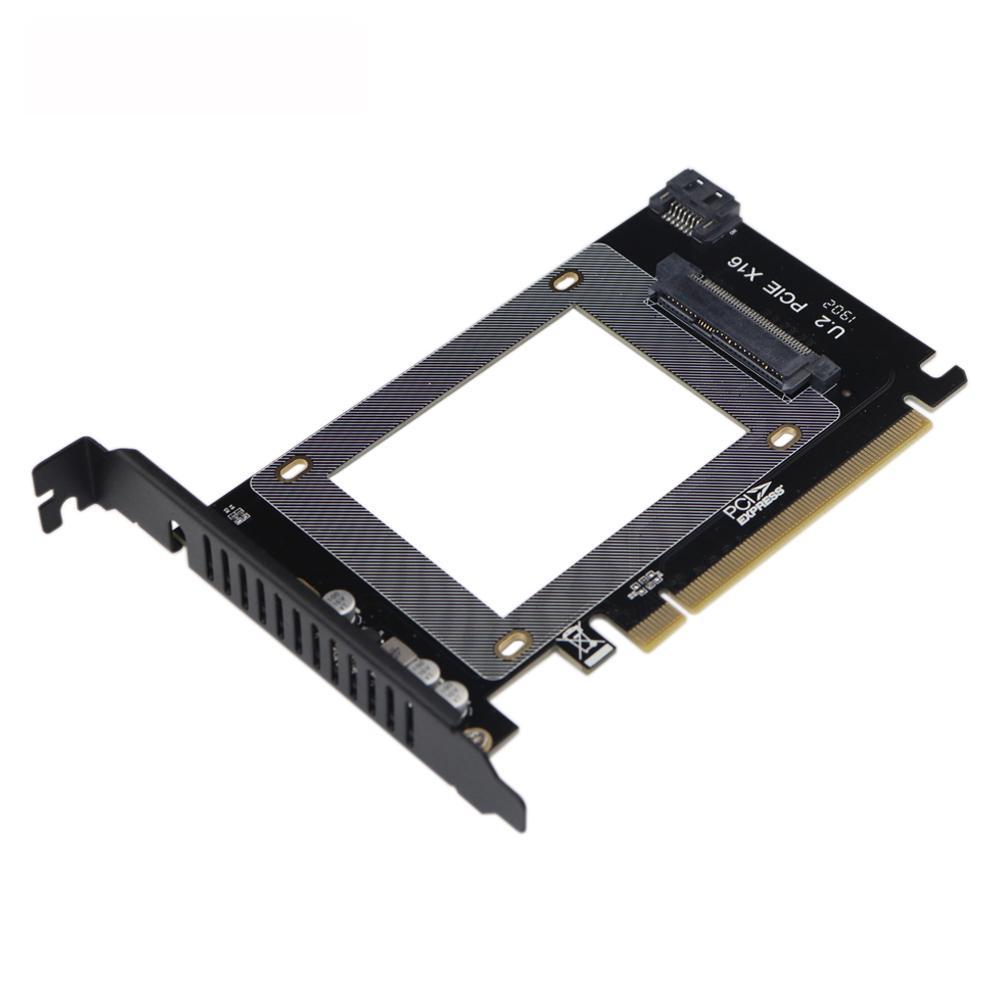 Conectores de placa de expansão U 2 de alto desempenho (SFF-8639) suporta PCIE SSD U2SD e SATA para U2