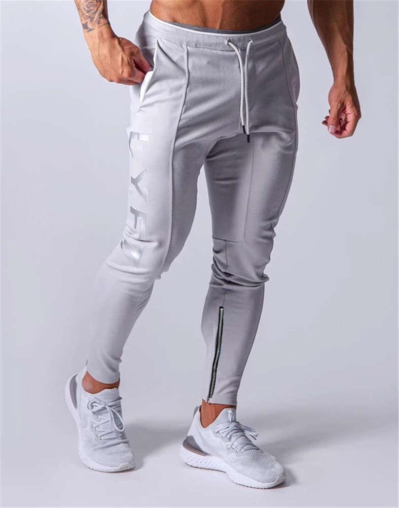 Marchwind designer de marca jogging calças homens sport sport executando homens corredores de algodão trackpants fino cab calças musculares calças musculares