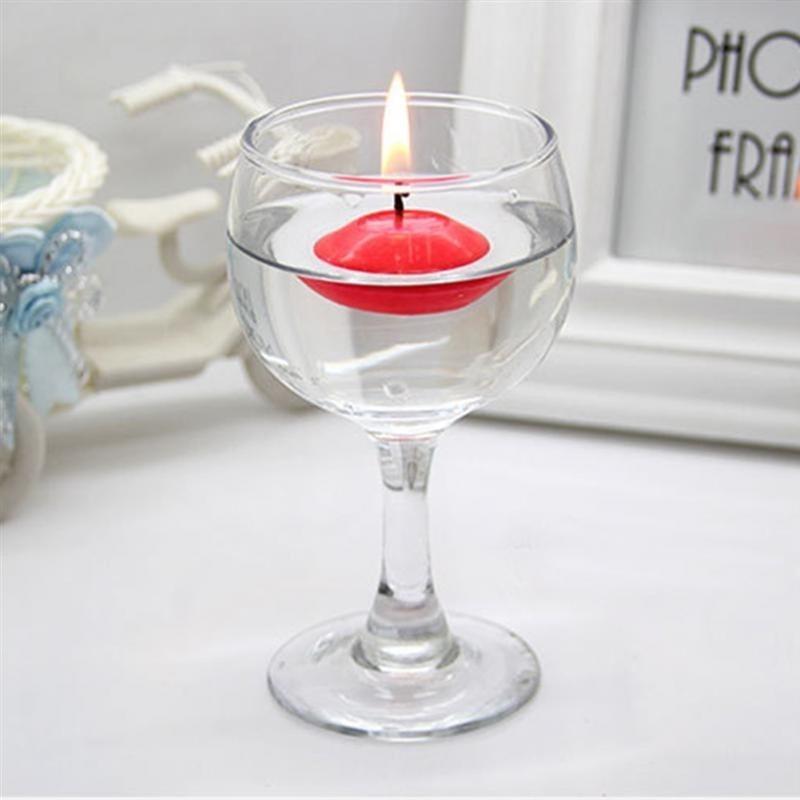 10 stücke Unscented kleine schwimmende Kerzen für Hochzeitsfeier Ereignis Neujahr Weihnachtsdekoration Wohnkultur Kerzen L0323