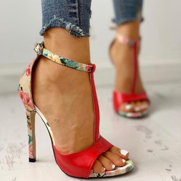 Moda sexy mulheres verão requintado fino salto alto senhoras aumentou Stiletto super salto sandálias zapatos de mujer bombas