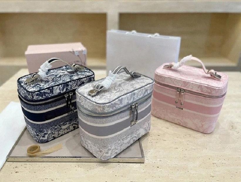Sacs cosmétiques de mode à la vente à chaud de la vente à chaud des concepteurs des concepteurs de sac de sac de sac de sac de sac de sac de luxe de luxe de grande capacité Tiger Patternogy7 #