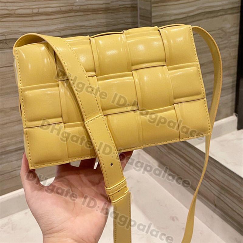 Moda Mujeres Bolsos de hombro Ganchillo Tejido Acolchado Pillow Bag 2021 Luxurys Designers S Handbag Messenger Totes Vintage Bolsos Crossbody Clutch Wallet Tote