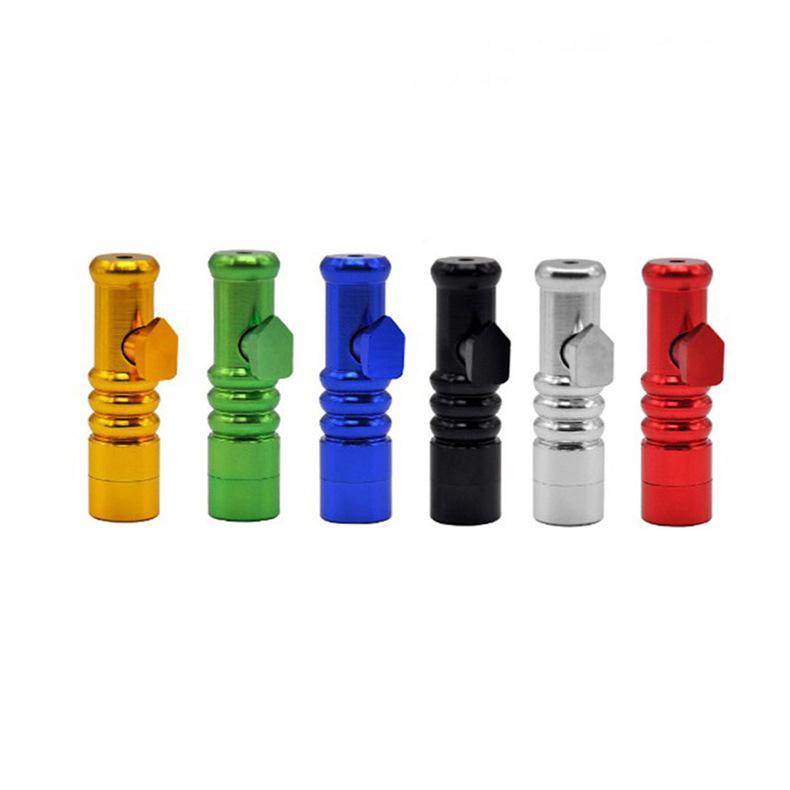 Fabricant Direct Autres accessoires fumeurs Mini couleur en alliage en aluminium en aluminium de tabac de tabac de tabac de fumée