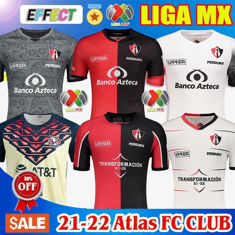 Atlas FC Futbol Formaları 2020 2021 İç Saha L.Reyes I. Jeraldino 20 21 Jersey Camiseta de Futbol Formaları Soccer Jerseys