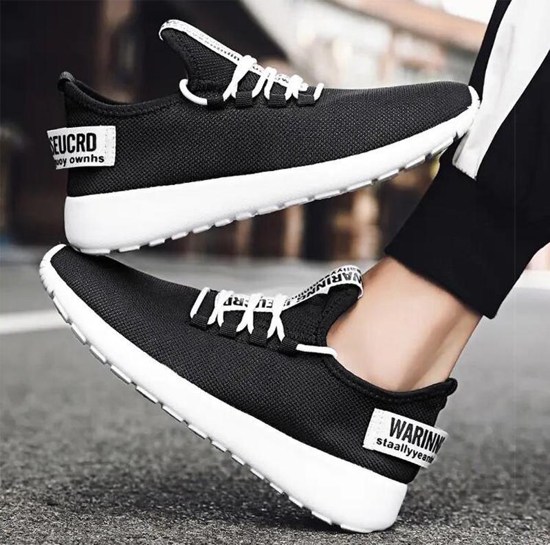 2021 جودة عالية الرجال الاحذية الأبيض الأسود الأصفر الأحمر الأزياء الصيف تنفس المدربين الرياضة حذاء رياضة الحذاء أربعة الحجم 38-46