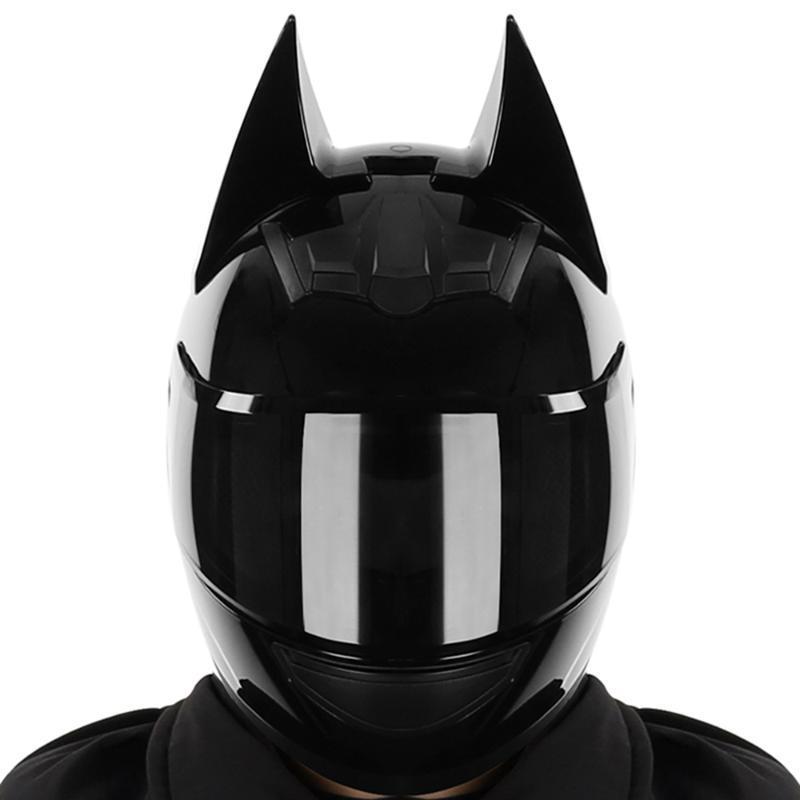 Casco de motocicleta Hombres Casco Moto Cara completa Capacete de lente dual Motocross Accesorios con cascos de esquina